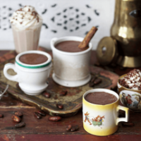 hot chocolate made with single origin cacao