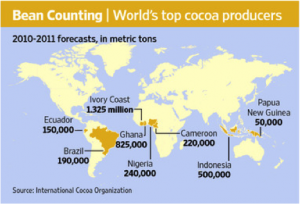 history-of-chocolate-map- cacao-production2