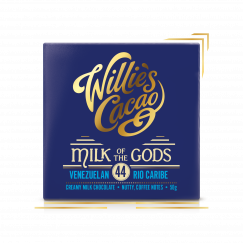 Milk of the Gods, Rio Caribe 44 Milk Chocolate - Sublime single estate milk chocolate - 50g