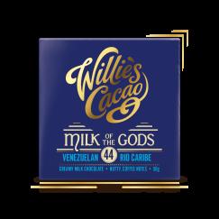 Milk of the Gods, Rio Caribe 44 Milk Chocolate - Sublime single estate milk chocolate - 50g