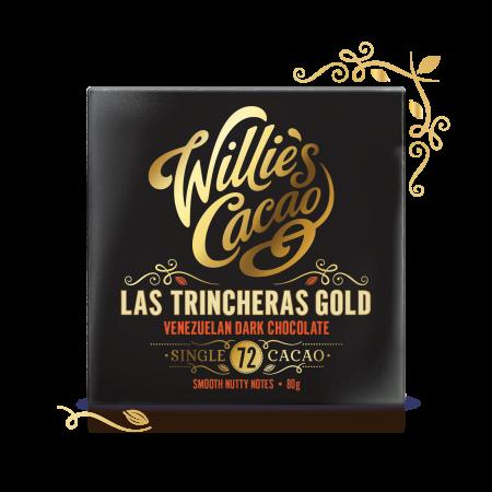 Las Trincheras Gold 72 , Venezuelan Dark Chocolate