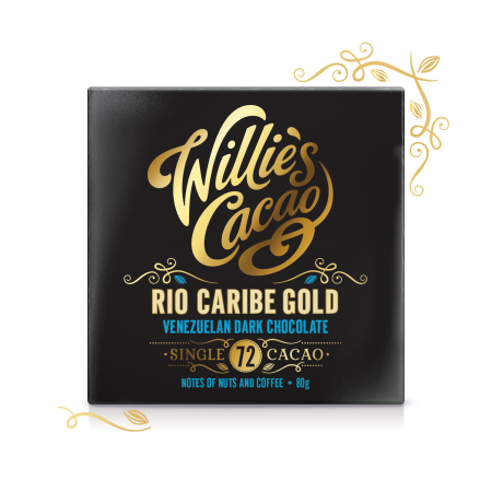 Rio Caribe Gold 72, Venezuelan Dark Chocolate- 80g