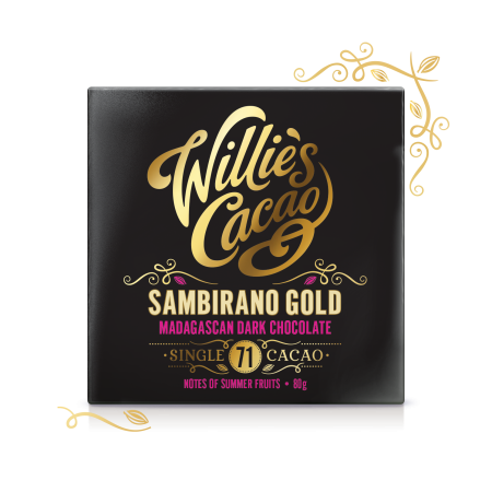 Sambirano Gold 71, Madagascan Dark Chocolate 80g