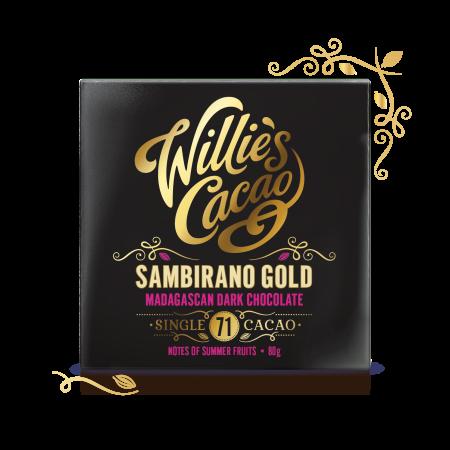 Sambirano Gold 71, Madagascan Dark Chocolate 80g