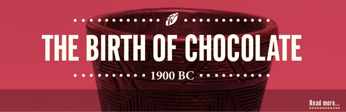 history of chocolate-birth of chocolate