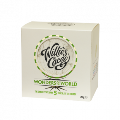 5 wonders of the world single estate dark chocolates