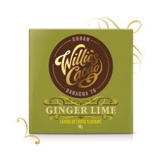 ginger & lime dark chocolate
