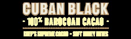 Cuban Black, 100% Baracoa, Single Origin Chef's Supreme Cacao - Soft Honey notes - 180g
