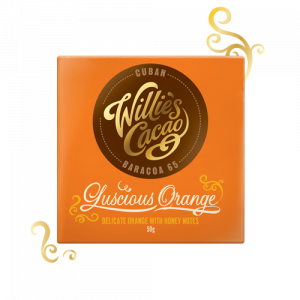 Luscious Orange Dark Chocolate 65