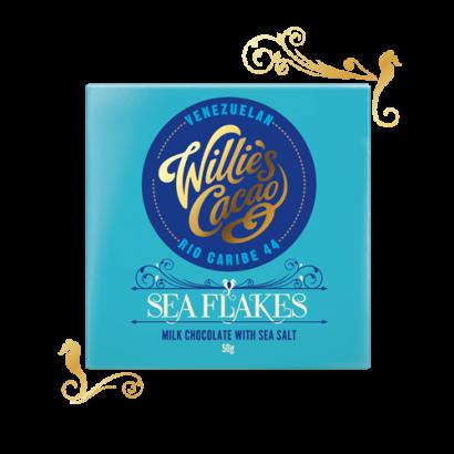 Sea Flakes,Milk chocolate with sea salt - 50g