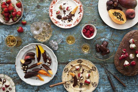 Fruit chocolate Dippers recipe