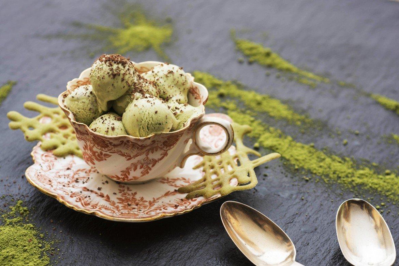 Matcha and White Chocolate Ice Cream - Willie's Cacao