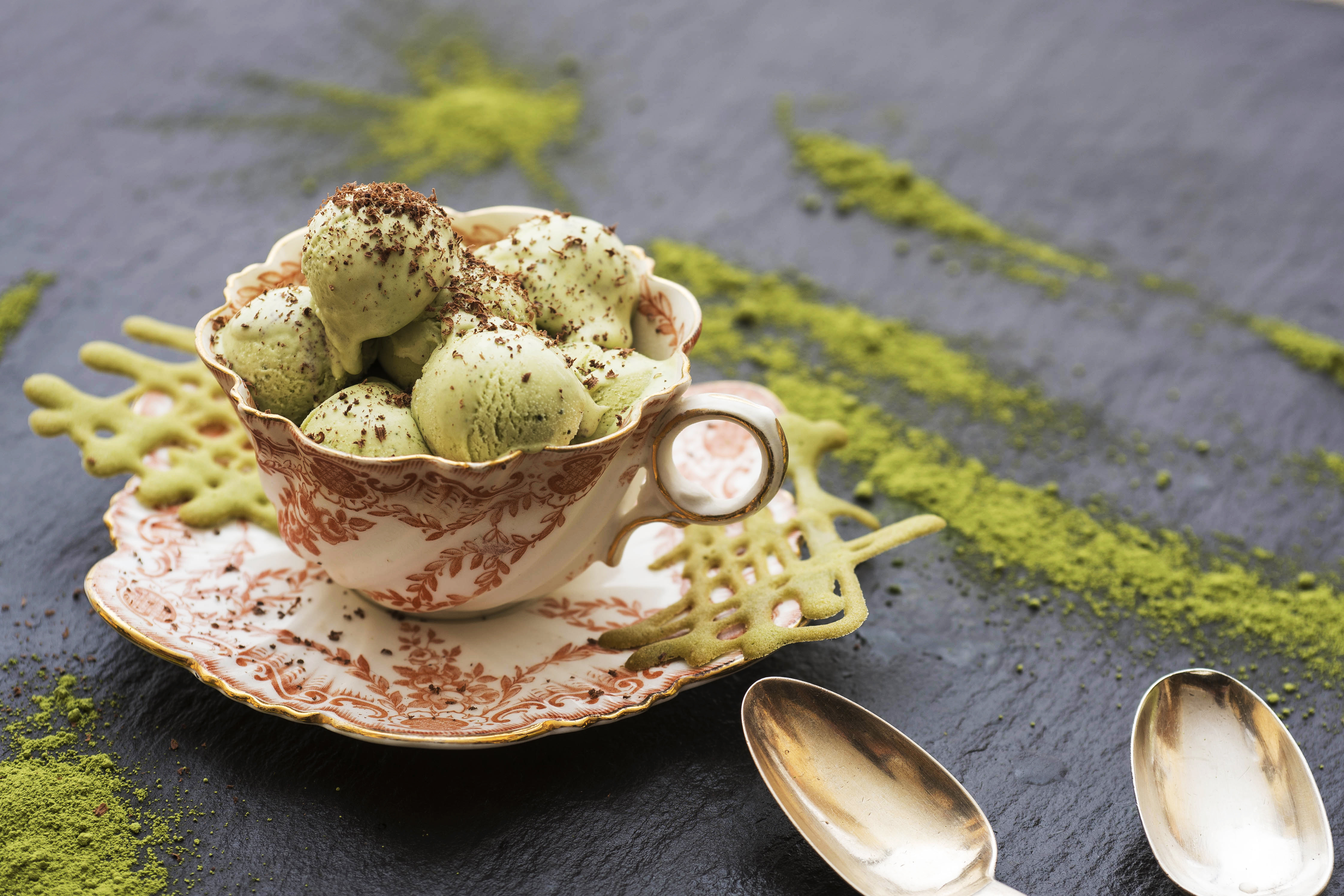 Matcha and White Chocolate Ice Cream | Willie's CacaoWillie's Cacao