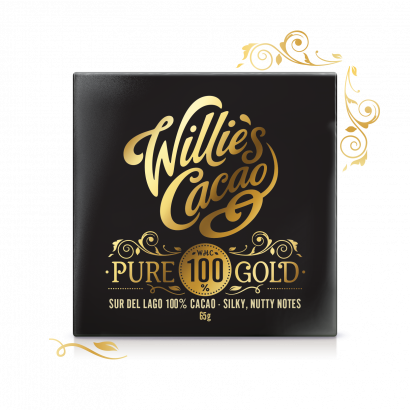 Pure Gold, Sure Del Lago 100% Cacao, sugar free