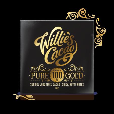 Pure Gold, Sure Del Lago 100% Cacao, sugar free