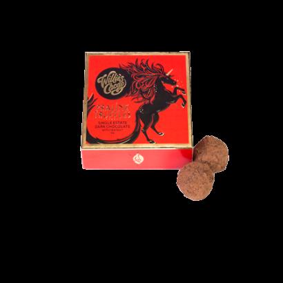 Praline Truffles Dark Chocolate with Sea Salt – 35g