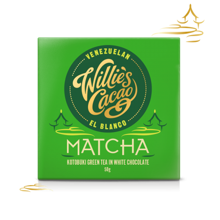 Matcha, white chocolate matcha- 50g