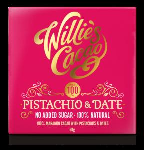 Pistachio & Dates 100% cacao