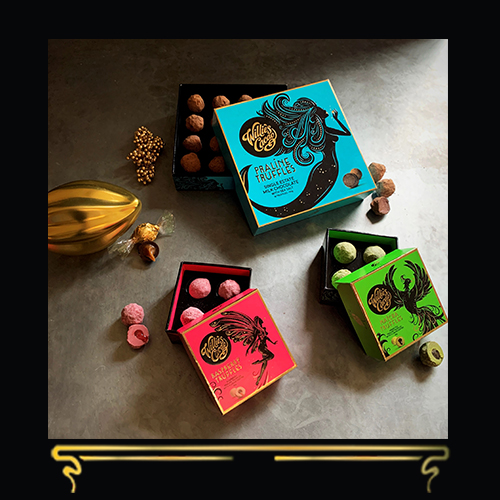 TRUFFLES & SALTED CARAMELS | CHOCOLATE GIFT SET | WILLIE'S CACAO