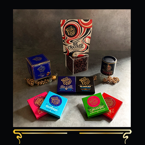 CHOCOLATE CHEER   LUXURY CHOCOLATE GIFT COLLECTION   WILLIE'S CACAO