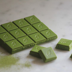 Willie's Cacao Matcha Chocolate. White Chocolate with ceremonial grade green tea. 100% natural, simply sublime.