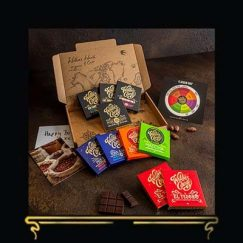 THE DISCOVERY TASTING BOX | WILLIE'S CACAO | MILK & DARK CHOCOLATE LETTERBOX GIFT