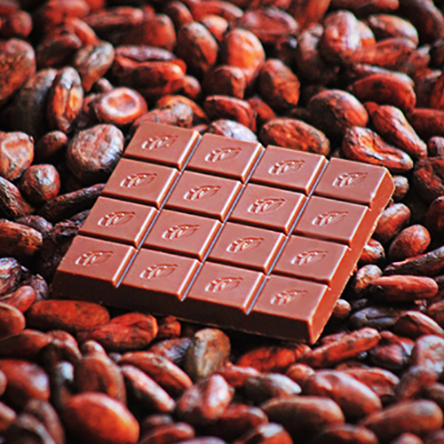 Willie's Cacao Milk of the Gods, 44% artisan milk chocolate. Rich notes of nuts and coffee.