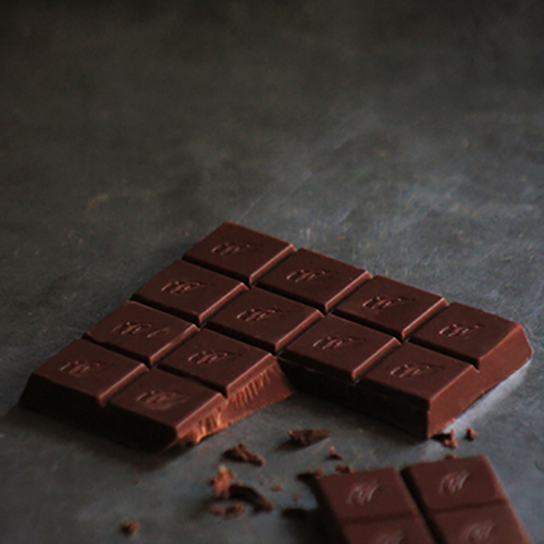 Willie's Cacao Milk of the Stars, 54% milk chocolate made with a single estate bean from Surabaya in Indonesia. 100% natural.