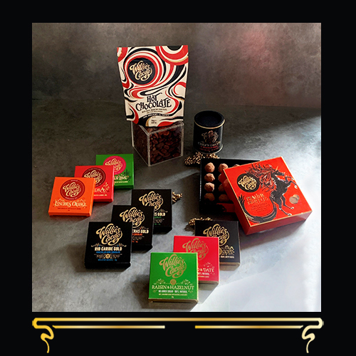 VEGAN FAVOURITES | LUXURY DARK CHOCOLATE GIFT SET | WILLIE'S CACAO