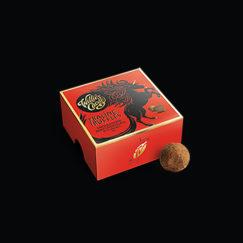 Willie's Cacao Praline Truffles made with dark chocolate and Cornish sea salt