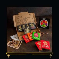 THE DISCOVERY TASTING BOX | WILLIE'S CACAO | DARK CHOCOLLATE LETTERBOX GIFT