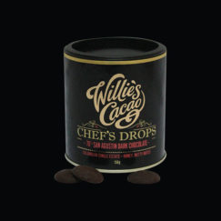 Willie's Cacao Chef's Drops, San Agustin 70% dark chocolate