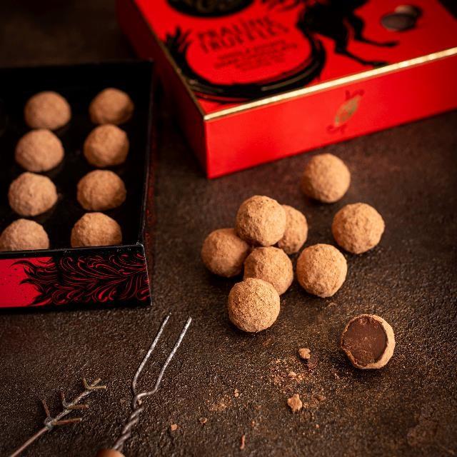 Dark Truffles   Willies Cacao
