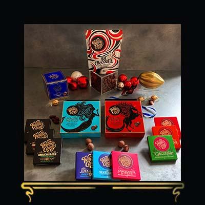 PURE INDULGENCE   LUXURY CHOCOLATE GIFT SET FROM WILLIE'S CACAO