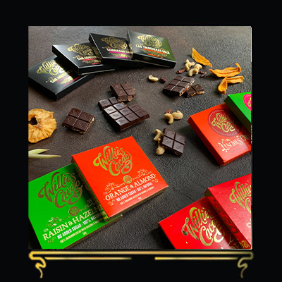 TOTALLY TROPICAL LETTERBOX GIFT | WILLIE'S CACAO | DARK CHOCOLATE