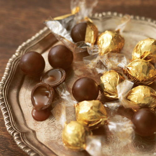Sea Salt Caramel pearls - Willies cacao